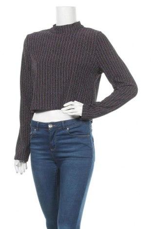 Дамска блуза Kiomi, Размер XL, Цвят Многоцветен, 80% полиестер, 15% метални нишки, 5% еластан, Цена 13,21лв.