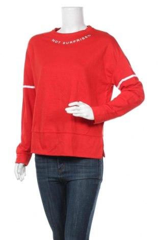 Γυναικεία μπλούζα Lefties, Μέγεθος S, Χρώμα Κόκκινο, 53% πολυεστέρας, 47% βαμβάκι, Τιμή 12,88€
