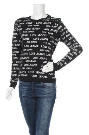 Дамска блуза Lois, Размер XS, Цвят Черен, Памук, Цена 18,62лв.