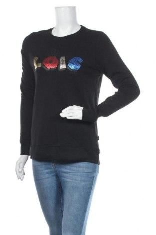 Дамска блуза Lois, Размер S, Цвят Черен, Памук, Цена 20,65лв.