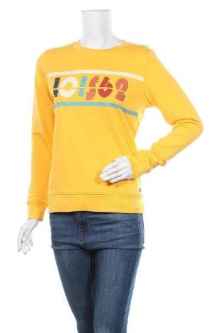 Дамска блуза Lois, Размер S, Цвят Жълт, Памук, Цена 21,83лв.