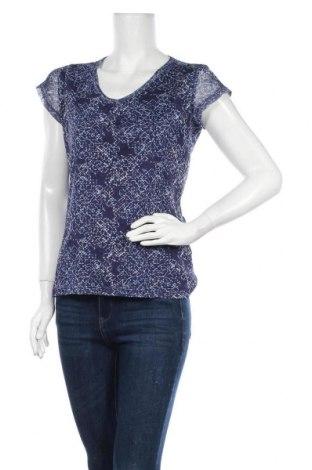 Дамска блуза Manguun, Размер M, Цвят Син, Полиестер, Цена 3,00лв.