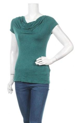 Дамска блуза Max Studio, Размер S, Цвят Зелен, 95% вискоза, 5% еластан, Цена 21,42лв.