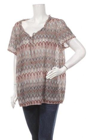 Дамска блуза Maxi Blue, Размер XXL, Цвят Многоцветен, 99% полиестер, 1% метални нишки, Цена 14,18лв.