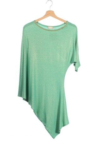 Дамска блуза Met, Размер XS, Цвят Зелен, 90% вискоза, 10% еластан, Цена 28,56лв.