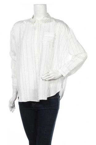 Дамска блуза Mint Velvet, Размер S, Цвят Бял, 85% вискоза, 14% полиамид, 1% полиестер, Цена 66,75лв.