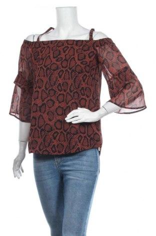 Дамска блуза Mint Velvet, Размер M, Цвят Кафяв, Полиестер, Цена 74,25лв.