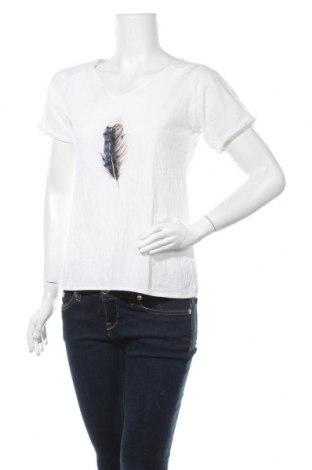 Дамска блуза Miss Look, Размер S, Цвят Бял, Памук, Цена 16,07лв.