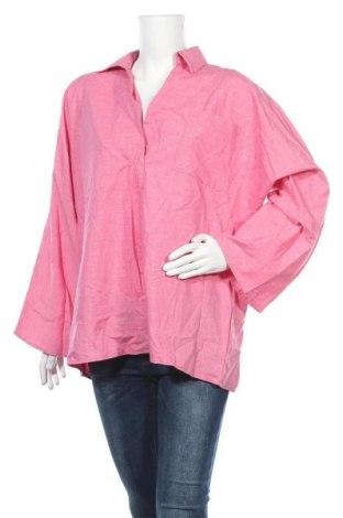 Дамска блуза Miss Look, Размер XL, Цвят Розов, Памук, полиестер, Цена 14,96лв.