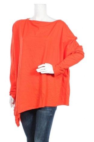 Дамска блуза Miss Look, Размер XL, Цвят Оранжев, Памук, полиестер, Цена 15,12лв.