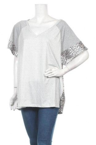 Дамска блуза Miss Look, Размер XXL, Цвят Сив, Памук, Цена 18,90лв.
