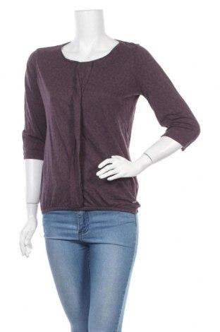 Дамска блуза Multiblu, Размер M, Цвят Лилав, 50% памук, 50% модал, Цена 13,39лв.