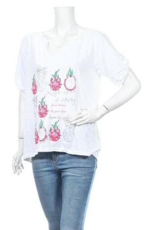 Дамска блуза Multiblu, Размер XL, Цвят Бял, Цена 8,93лв.