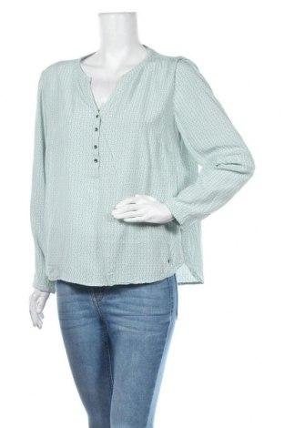 Дамска блуза My Blue by Tchibo, Размер M, Цвят Зелен, Вискоза, Цена 11,34лв.