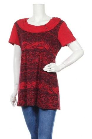 Дамска блуза My Own, Размер XL, Цвят Червен, Памук, Цена 7,56лв.