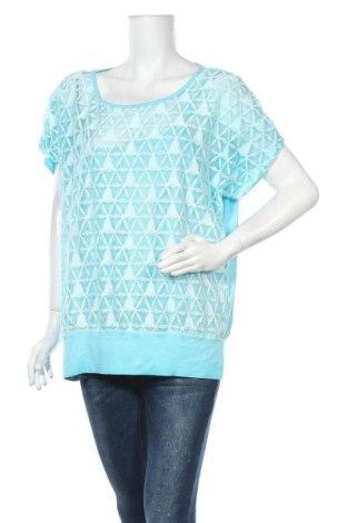 Дамска блуза My Own, Размер XL, Цвят Син, 95% вискоза, 5% еластан, Цена 7,56лв.
