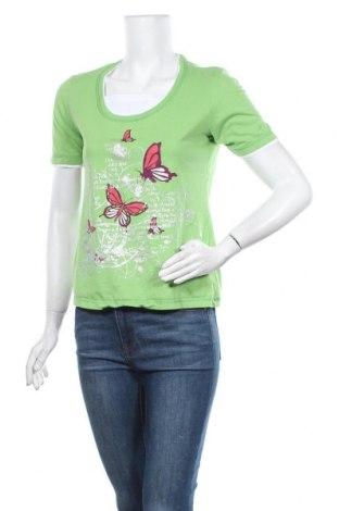 Дамска блуза Paola, Размер S, Цвят Зелен, Памук, Цена 3,41лв.