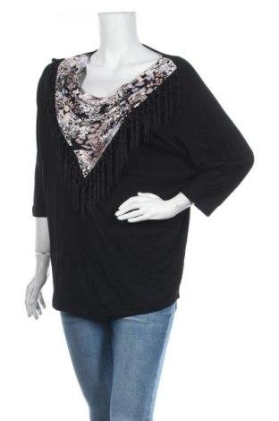 Дамска блуза Paola, Размер XL, Цвят Черен, 95% вискоза, 5% еластан, Цена 6,42лв.