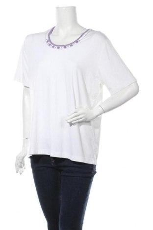 Дамска блуза Rabe, Размер XL, Цвят Бял, 92% вискоза, 8% еластан, Цена 41,58лв.