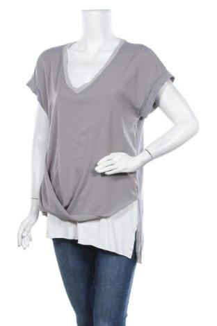 Дамска блуза Rick Cardona, Размер M, Цвят Сив, Цена 4,46лв.