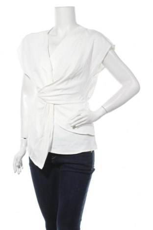 Дамска блуза SHEIN, Размер S, Цвят Екрю, 100% полиестер, Цена 15,96лв.