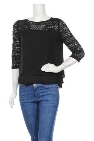 Дамска блуза Saint Germain, Размер S, Цвят Черен, Полиестер, Цена 16,07лв.