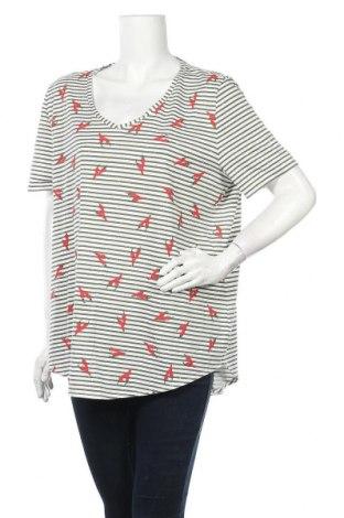 Дамска блуза Samoon, Размер XXL, Цвят Бял, Цена 15,12лв.