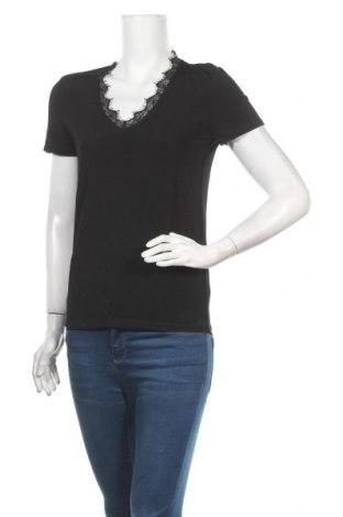Дамска блуза Soaked In Luxury, Размер XS, Цвят Черен, 90% вискоза, 10% еластан, Цена 31,27лв.