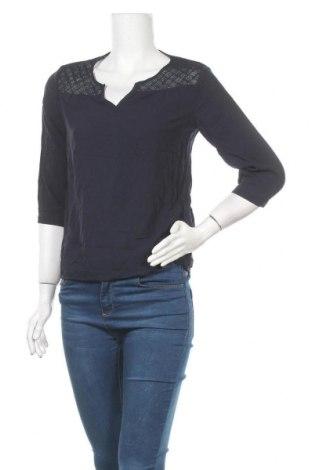 Дамска блуза Takko Fashion, Размер S, Цвят Син, Вискоза, Цена 4,46лв.