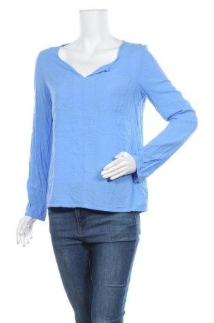 Дамска блуза Takko Fashion, Размер M, Цвят Син, Вискоза, Цена 8,03лв.