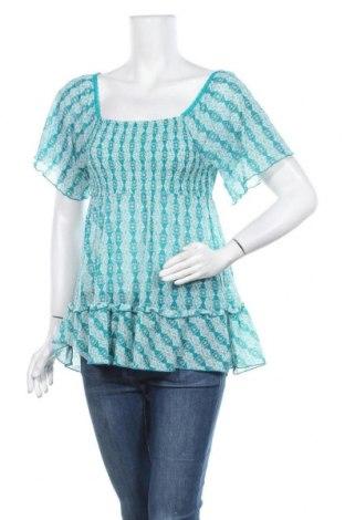 Дамска блуза Takko Fashion, Размер M, Цвят Зелен, Полиамид, Цена 5,36лв.
