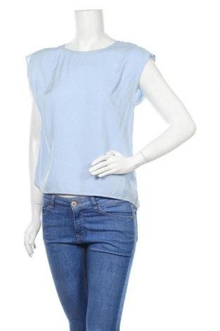Дамска блуза Tigha, Размер S, Цвят Син, Вискоза, Цена 17,00лв.