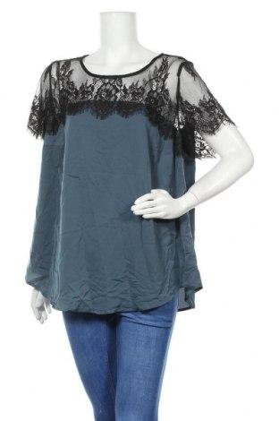 Дамска блуза Torrid, Размер L, Цвят Син, 97% полиестер, 3% еластан, Цена 15,17лв.
