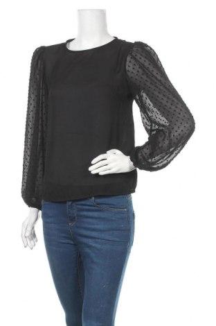 Дамска блуза Trendyol, Размер S, Цвят Черен, Полиестер, Цена 13,86лв.