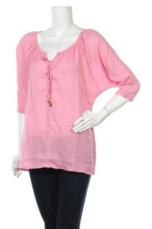 Дамска блуза Urban By Venca, Размер M, Цвят Розов, Полиестер, Цена 13,80лв.