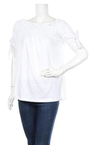 Дамска блуза Venca, Размер L, Цвят Бял, Памук, Цена 18,90лв.