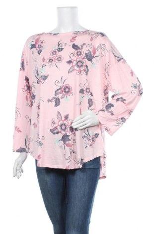 Дамска блуза W. Lane, Размер XL, Цвят Розов, Модал, полиестер, Цена 35,44лв.