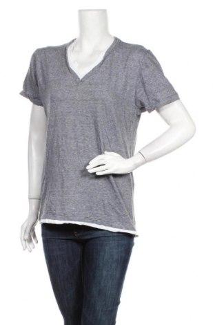 Дамска блуза WE, Размер L, Цвят Сив, Памук, Цена 4,37лв.