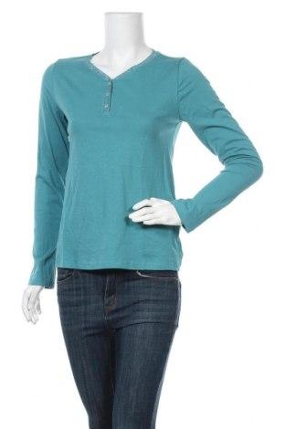 Дамска блуза Women's Selection, Размер S, Цвят Зелен, Памук, Цена 18,40лв.