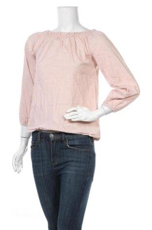Дамска блуза Zebra, Размер S, Цвят Розов, 95% памук, 5% еластан, Цена 3,84лв.