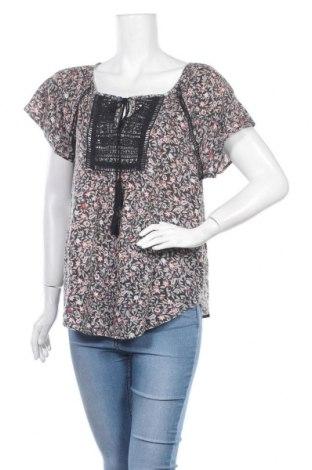 Дамска блуза Zebra, Размер L, Цвят Многоцветен, Вискоза, памук, Цена 15,96лв.