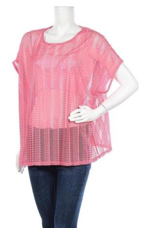Дамска блуза Zizzi, Размер L, Цвят Розов, 95% полиестер, 5% еластан, Цена 6,05лв.