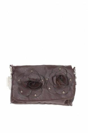 Дамска чанта, Цвят Кафяв, Еко кожа, Цена 10,40лв.