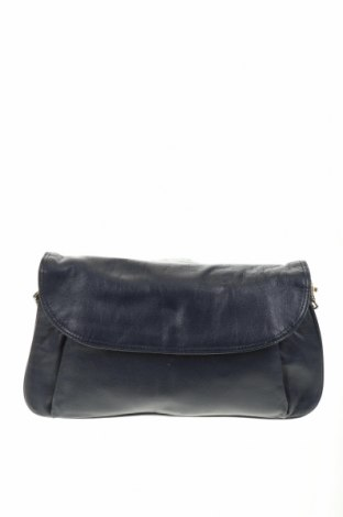 Дамска чанта, Цвят Син, Естествена кожа, Цена 38,59лв.