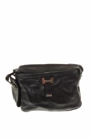 Дамска чанта, Цвят Черен, Естествена кожа, Цена 35,28лв.