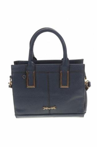 Дамска чанта, Цвят Син, Еко кожа, Цена 11,34лв.