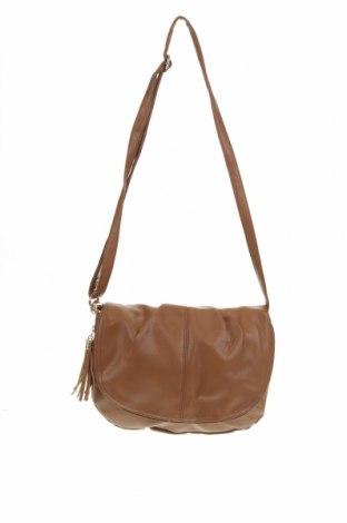 Дамска чанта, Цвят Кафяв, Еко кожа, Цена 9,14лв.