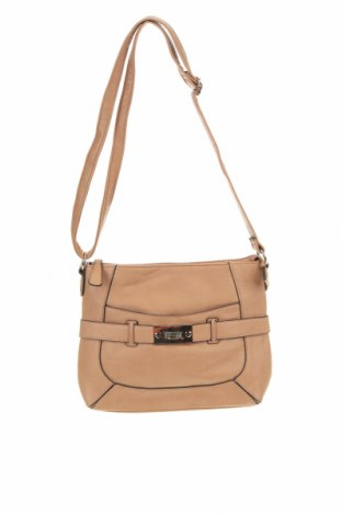 Дамска чанта, Цвят Кафяв, Еко кожа, Цена 14,70лв.
