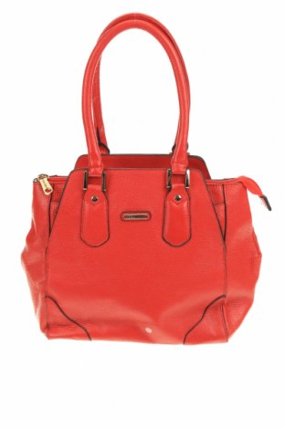 Дамска чанта Vera May, Цвят Червен, Еко кожа, Цена 33,81лв.