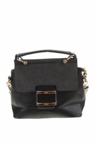 Дамска чанта, Цвят Черен, Еко кожа, Цена 29,30лв.